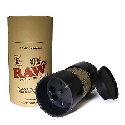 Raw King size Six Shooter Multi Cone filler Fills up to 6 Cones Many Variations