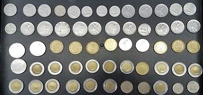 Lot Of 58 Modern Coins Of Italy  #f35E