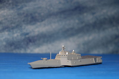 USS Jackson LCS Painted 1/1250 Waterline ship 3D Printed in Resin
