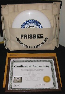 Championships Frisbee Bag with 2 World Class Frisbees from Steady ED golf disc