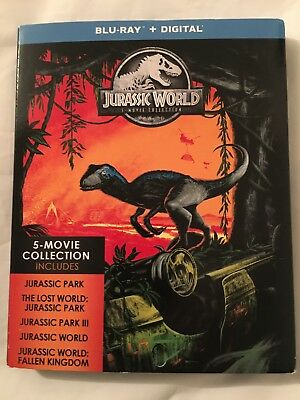 Jurassic World 5 Movie Collection Blu-ray ,item is sealed ,if open no return .