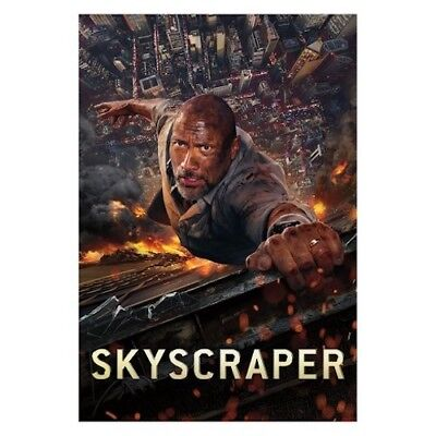 Skyscraper DVD New & Sealed Dwayne Johnson comes with Slipcover Free Shipping!