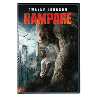 Rampage DVD Dwayne Johnson New Sealed Free Shipping included!