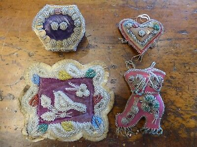 Native American Whimsies Set of 5 Whimsy Beadwork