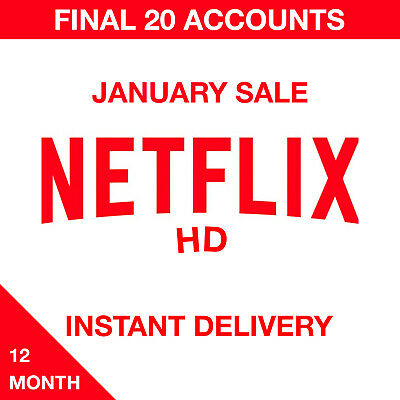 Netflix 12 Month HD - LIMITED TIME