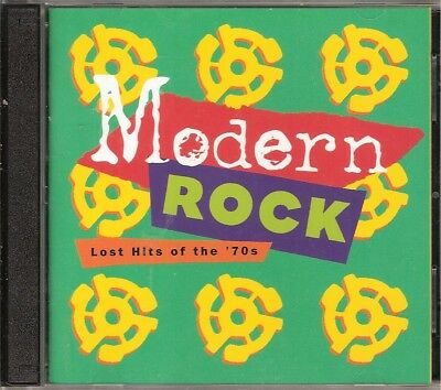 Time Life Modern Rock Lost Hits Of The 70s Excellent 2 Disc OOP FREE SHIPPING