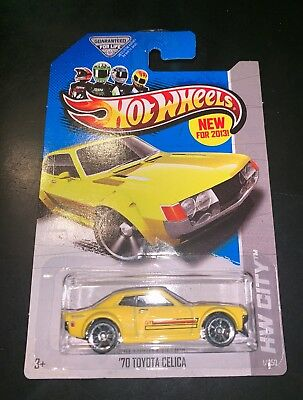 Hot Wheels 2013 Street Power - Hw City '70 Toyota Celica Yellow