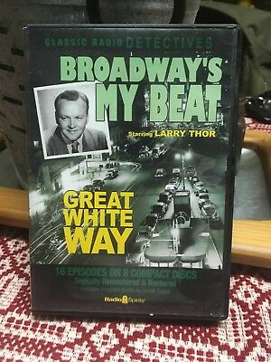 Broadway's my beat Starring Larry Thor Great White Way