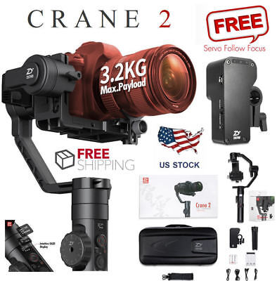 Zhiyun Crane 2 3-Axis Handheld Stabilizer Gimbal With Follow Focus