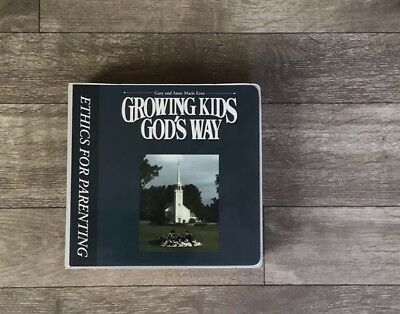 GROWING KIDS GOD'S WAY: Cassette Set PARENTING By Gary AnAnne Marie Ezzo