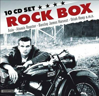 Rock Box Ultimate Music Collection New 10 Cd 117 Songs Album Original Artists