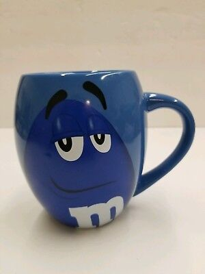 "M&M's World ""Blue"" 16oz Ceramic Mug ""It's all good"""