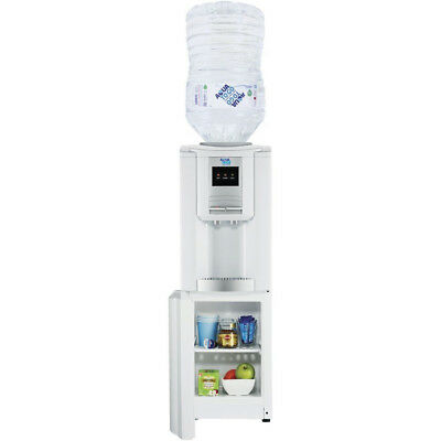 12L Floor Standing Hot and Cold Drinking Water Dispenser w Storage Aqua To Go