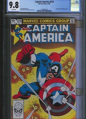 Captain America # 275 CGC 9.8  White Pages. UnRestored.