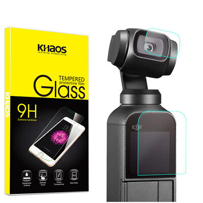 Khaos For DJI Osmo Pocket Camera (Lens + Screen) Tempered Glass Screen Protector