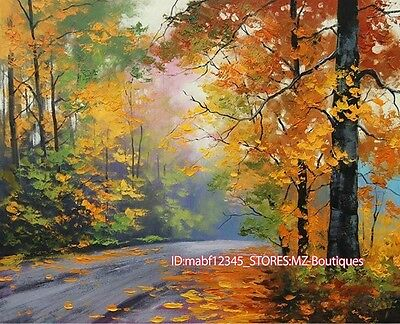 """30""""x24"""" Hand painted Oil Canvas Wall Art home Decor Landscape NO Frame YH564"""