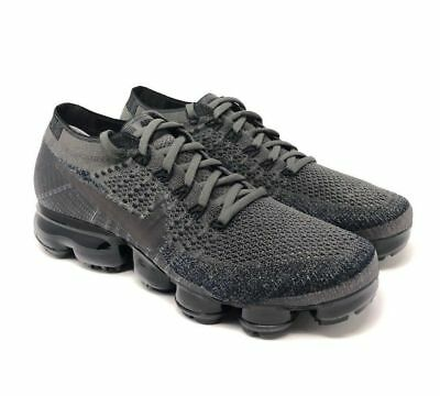 d0ca2e03adccf NIKE Women s Air Vapormax Flyknit Shoes 849557 009 Midnight Fog Black Size 5