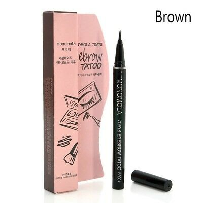 Eyebrow Tattoo Pencil Pen Liner Long Lasting Eye Brown 7 Day Makeup Cosmetic Kj