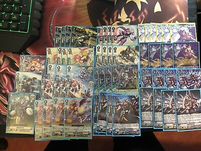 Cardfight Vanguard Standard Spike Brothers Deck Complete 4 SVR High Rarity