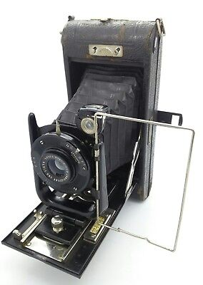 VINTAGE Ensign Carbine No 12 by Houghton-Butcher roll film folding Camera