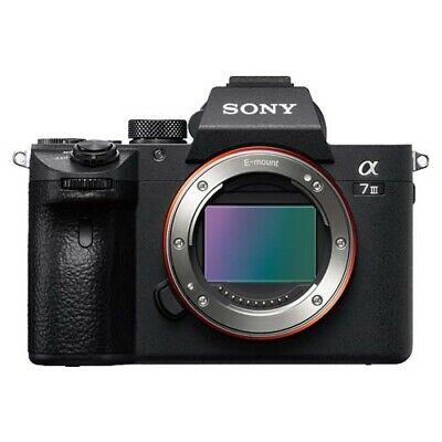 Sony Alpha A7 III (BODY) Mirrorless Camera (ILCE-7M3) (AUST STK)