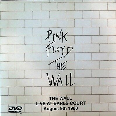 PINK FLOYD The Wall Live At Earl Court - August 9th (1980) 2 CD+DVD