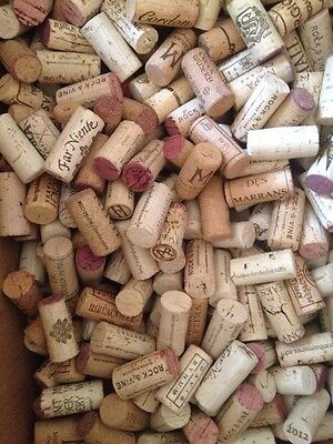 100% Cork Wine Corks (100 Corks - USED)