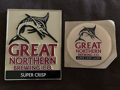 Great Northern Beer Tap Badge, Top, Decal + Sticker