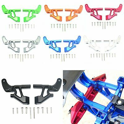 Alloy Rear Wing Mounting Arm Refit Kit for TRAXXAS E-REVO 2.0 86086-4 RC Car CBY