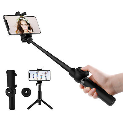Extendable Selfie Stick With Bluetooth Remote Tripod Monopod for Phone/Gopro/SLR