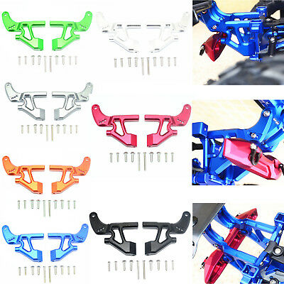 Alloy Car Refit Rear Wing Mounting Arm Kit for TRAXXAS E-REVO 2.0 86086-4 RC CBY