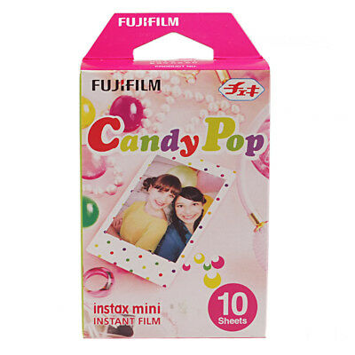 10 sheets Fujifilm Candy Pop Instax Mini 8 film For Polariod 7s 25 50s 90 300