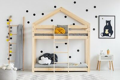 Children bunk bed House Without Mattress 12 dimensions NEW 2019 certificat safe
