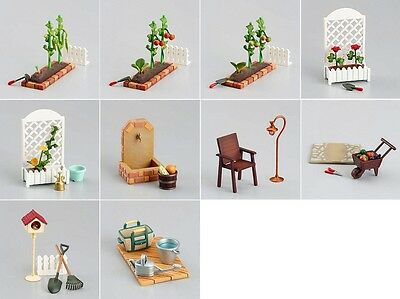 Megahouse Miniature Garden Mate Full Complete Set VHTF RARE 2004 Re-ment