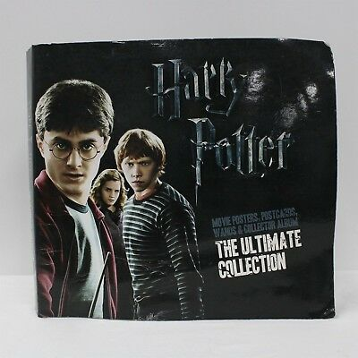 HARRY POTTER The Ultimate Collection Album - Wands Movie Posters Postcards #454