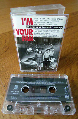 Various Artists - I'm Your Fan The Songs Of Leonard Cohen Rare Uk Cassette