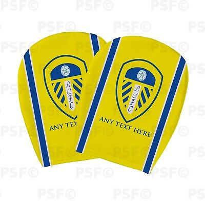 Leeds United FC Official Custom Crest Yellow Stripe Car Head Rest Cover LHR003