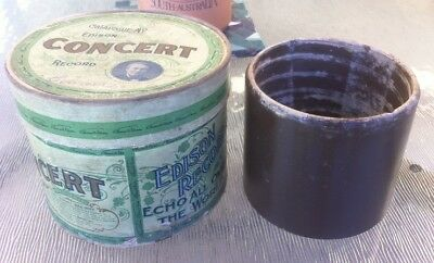 Edison Phonograph  5 inch CONCERT cylinder  record (gramophone gramaphone )
