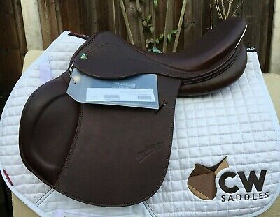 16'' PRESTIGE JOY Jumper childern jump saddle | tree size 34 | brown
