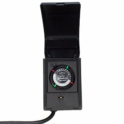 Intermatic P1121 Heavy Duty Outdoor Timer 15 Amp/1 HP for Pumps Aerators Heaters