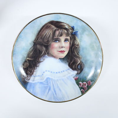 Franklin Mint Lady Elizabeth Limited Edition Collectors Plate #414