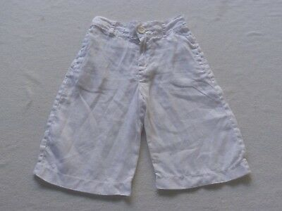 SEED white linen shorts size 4-5 - much cheaper post option