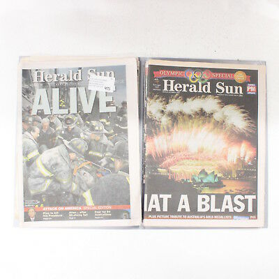 Herald & Weekly Times Herald Sun 1999-2000 Newspaper Collection #454