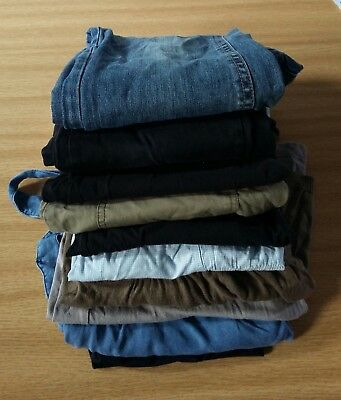 Large Bundle of Maternity Clothes (10 pieces) Sizes 8-10 or S.