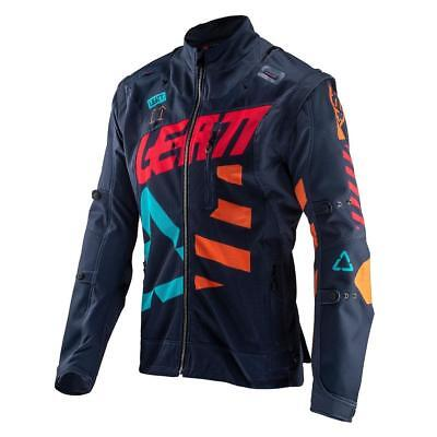 Leatt Fahrerjacke GPX 4.5 X-Flow Ink/Orange