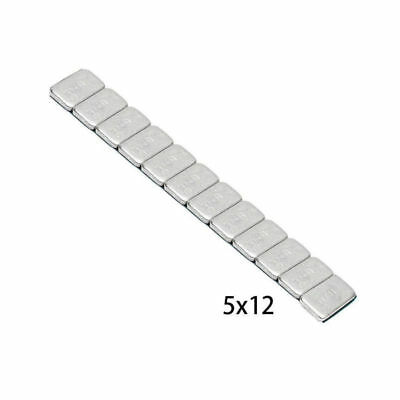 Silver Balancing Weights Sticker 5.9'' Iron Adhesive Motorcycle Car Truck 60g
