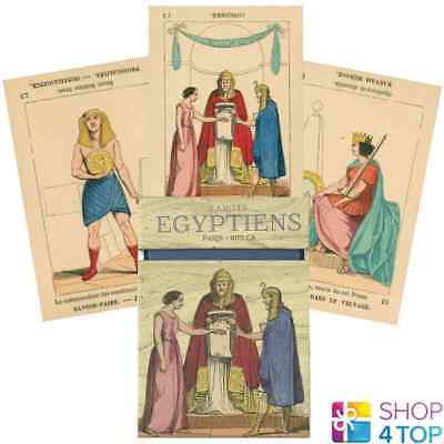 Tarot Egyptiens Deck Cards Esoteric Fortune Telling Lo Scarabeo New