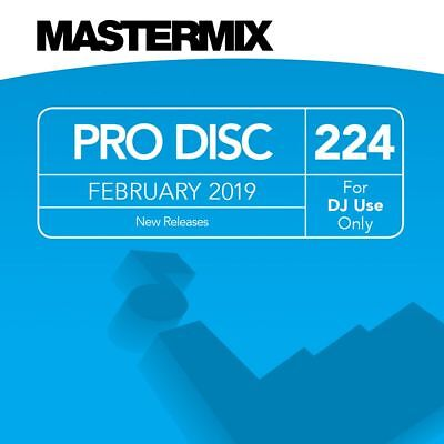 Mastermix L@@k At What's New, February Pro Disc #224, 22 Tracks.