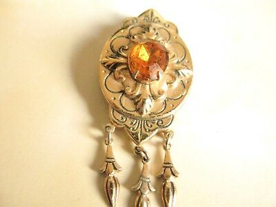Vintage Gold Tone Signed CORO Pin Brooch