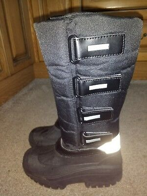 USG Thermo Boot 'Polar' size 5 / 38 warm winter boots, yard boots, riding boots